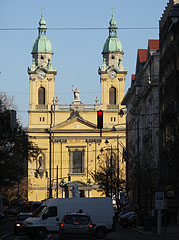 The Roman Catholic Parish Church of Józsefváros, also known as St. Joseph's Church - Budapešť, Maďarsko