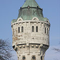 Water Tower of Újpest - Budapešť, Maďarsko