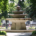 Centennial fountain (or Centenary fountain) - Kiskunfélegyháza, Maďarsko