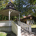 "Pavilion in the park that is called ""Cifra-kert"" (""Cifra Garden"") - Nagykőrös, Maďarsko"