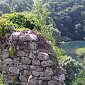 Ruins of the Castle of Slunj (in Latin Slovin, in Hungarian Szluin) - Slunj, Hırvatistan
