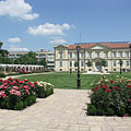 The baroque style Verseghy Park - Szolnok, Macaristan