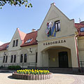 The front wall of the Town Hall of Dunakeszi - Dunakeszi, Ungaria