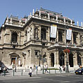 The neo-renaissance style Opera House - Budapest, Ungheria