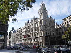 The already renovated northern Klotild Palace - Budapest, Hongrie
