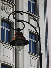 Lamp post at the headquarters of the AEGON insuarance company - Budapest, Hongrie