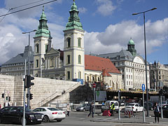 "Inner City Parish Church (or Downtown Parish Church, in Hungarian ""Belvárosi plébániatemplom"") - Budapeszt, Węgry"