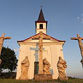 Calvary chapel on Szent Tamás Hill (Saint Thomas Becket of Canterbury Chapel or Pietà Chapel) - Esztergom (Ostrzyhom), Węgry