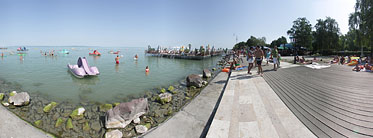 ××Lakeside of the Balaton, Beach - Siófok (Шиофок), Венгрия