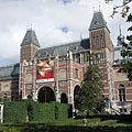 Rijksmuseum (the National Museum of the Netherlands), southern facade - Amsterdam, Niederlande