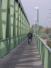 Üjpesti Railway Bridge (in everyday language: Northern Railway Bridge) - Budapest, Ungarn