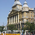 The terminus of the tram line 47 and 49 - Budapest, Ungarn