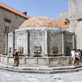 The Great Onofrio's Fountain (also known as Big Onuphrius' Fountain or Onoufrios' Fountain) - Dubrovnik, Kroatien