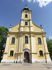 "The Roman Catholic St. Adalbert's Parish Church (""Szent Adalbert-plébániatemplom"") of Hatvan - Hatvan, Ungarn"