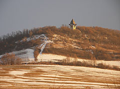 Even the snowy landscape could be heart-warming - Mogyoród, Ungarn