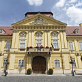 The empire style Episcopal Palace (the designer is unknown, built by Jakab Rieder) - Székesfehérvár (Stuhlweißenburg), Ungarn