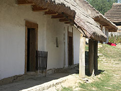 Porch of the house from Márianosztra - Szentendre (Sankt Andrä), Ungarn