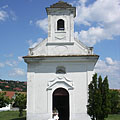 The votive chapel from Jánossomorja (Mosonszentjános) was built in 1842 (also known as St. Anne's Roman Catholic Church) - Szentendre (Sankt Andrä), Ungarn