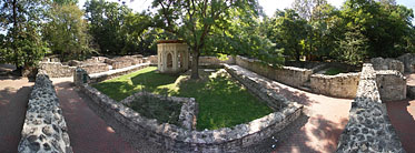 Margaret Island (Margit-sziget), Ruins of the St. Margaret Abbey - Budapest, Ungarn