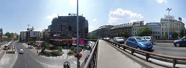 ××Nyugati Square, Flyover (overpass) - Budapest, Ungarn