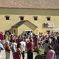 Bustle of the fair in the Northern Hungarian Village cultural region - Szentendre, Hongarije