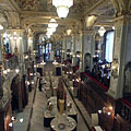 The Deepwater Restaurant in the offset four-split-level New York Café coffee house - Budapest, Ungari