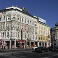 The four-storey building of the former Emke Coffee House - Budapest, Ungari
