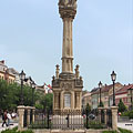 Holy Trinity Column to commemorate the plague epidemic of the year 1711 - Szombathely, Ungarn