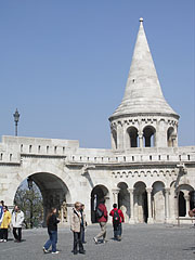 "Fisherman's Bastion (""Halászbástya"") - بودابست, هنغاريا"