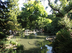 The small lake of the Margaret Island - بودابست, هنغاريا