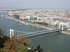 UNESCO World Heritage panorama (River Danube, Elizabeth Bridge, Riverbanks of Pest) - بودابست, هنغاريا