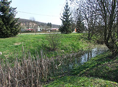 The Sinkár Brook, that divides the village - Csővár, هنغاريا