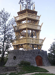 Várhegy Lookout Tower (formerly Berzsenyi Lookout) - Fonyód, هنغاريا