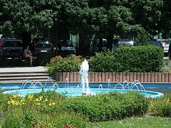 Fountain in the park - Siófok, هنغاريا