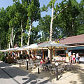 Restaurants, buffets and ice cream parlors along the promenade - Siófok, هنغاريا