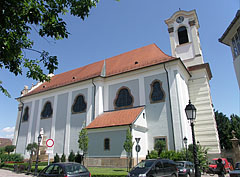 "Church of the Whites (in Hungarian ""Fehérek temploma""), also known as Upper Town Parish Church, it is the former Dominican Church - Vác, هنغاريا"