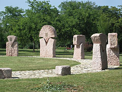 The Stonehenge-like Jubilee Memorial - Ajka, Hungary