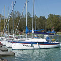Yacht marina (sailboat harbor) - Balatonfüred, Hungary