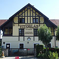 """Vitorlás"" restaurant, the ex-clubhouse of Stefánia Yacht club - Balatonfüred, Hungary"