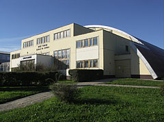 The sports hall of the Deák Ferenc Primary School - Barcs, Hungary
