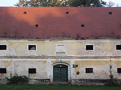 Former agricultural outbuilding (a granary) near the Széchenyi Mansion - Barcs, Hungary