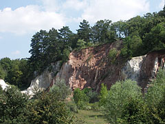 Red rocks at the parking lot - Budakeszi, Hungary