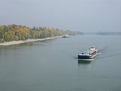 The Danube River from the railway bridge - Budapest, Hungary