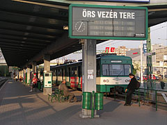"Terminus of the ""HÉV"" suburban train (also known as commuter rail) - Budapest, Hungary"