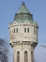 Water Tower of Újpest - Budapest, Hungary