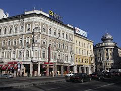 The four-storey building of the former Emke Coffee House - Budapest, Hungary