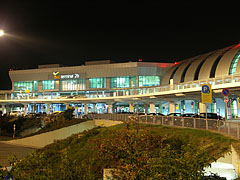 Budapest Liszt Ferenc Airport, the Terminal 2A / 2B from outside - Budapest, Hungary