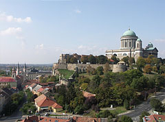 Castle of Esztergom and the Basilica on the Castle Hill  - Esztergom, Hungary