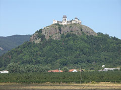 "The Füzér Castle on the top of the Várhegy (""Castle Hill""), viewed from the border of the village - Füzér, Hungary"