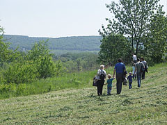 A little walk from the university buildings to the location of the May Day programs - Gödöllő, Hungary